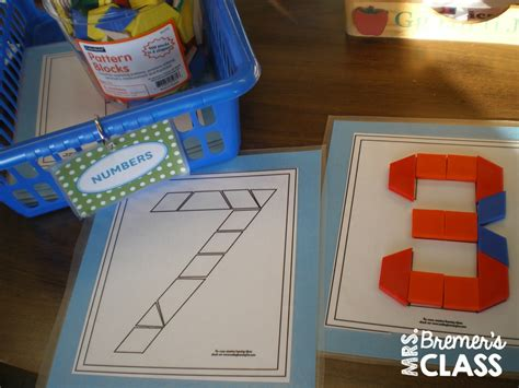 pattern stations kindergarten mrs bremer s class math work stations