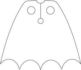 cape template batman cape template lego licensed eurobricks forums