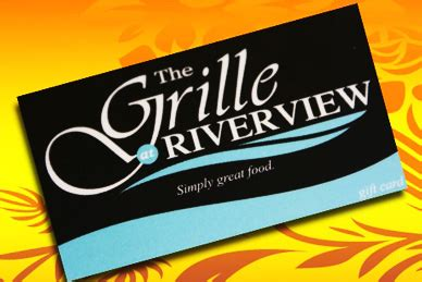 Shell Us Gift Card - gift cards for the grille at riverfront