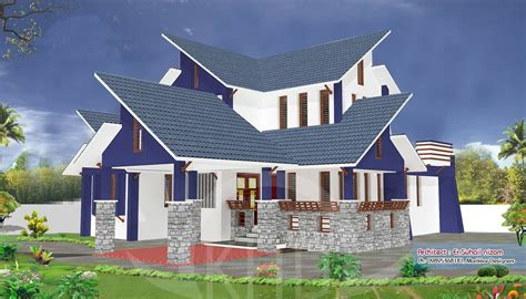house plans and elevations in kerala a beautiful kerala house and elevation plan 2302 sq ft