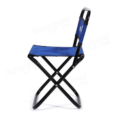 Small Folding Stool by Portable Folding Chair Backrest Fishing Chair Small Blue