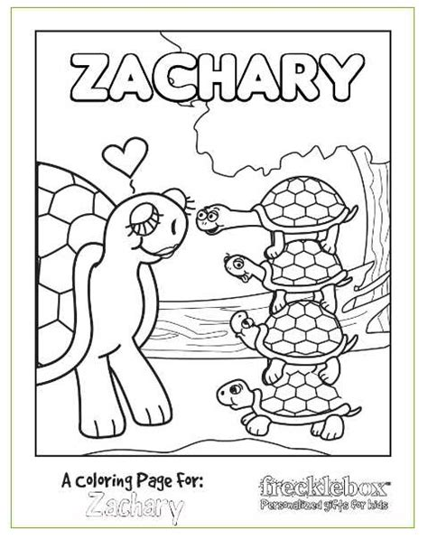 Personalized Coloring Pages free personalized coloring pages for savings