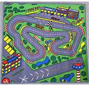 Race Car Floor Rug For Kids  PurpleToyShopcom