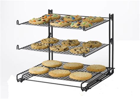 cooling rack 3 susun non stick 3 tier cooling rack only 8 99 highly