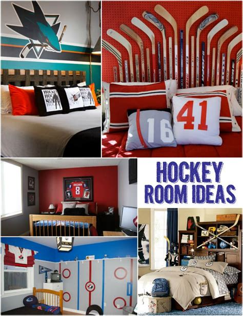 cool hockey bedrooms 1000 ideas about hockey room on pinterest hockey bedroom boys hockey bedroom and