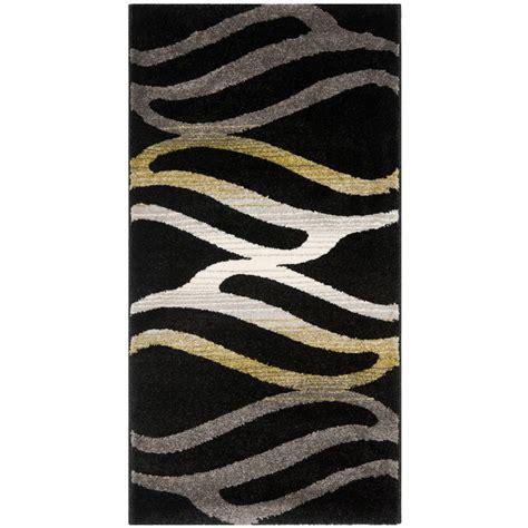 porcello rug safavieh porcello black multi 4 ft x 5 ft 7 in area rug prl6862 9091 4 the home depot
