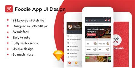 Foodie Food Order App Ui Kit By Imvj Themeforest Restaurant Ordering App Template
