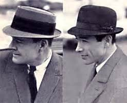 Men wore hats in the fifties not sometimes all the time there was