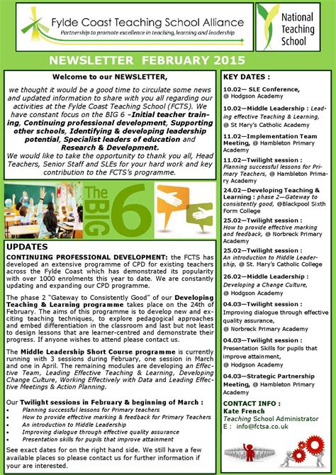 Newsletter By Schudio Issuu Sle Newsletter Templates For Teachers