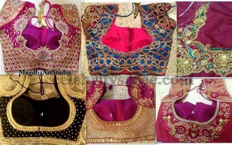 blouse pattern works cut work and aari bridal blouse designs saree blouse