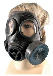 Gas Mask Costume Military Style Gas Mask