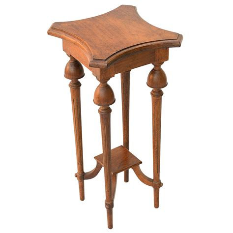 Unusual Accent Tables | unusual walnut accent table at 1stdibs