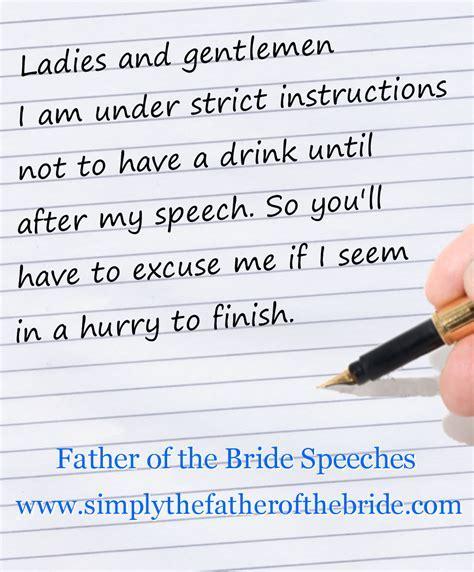 Father of the Bride Speeches   Words with meaning