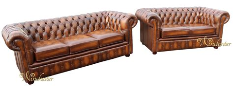 Chesterfield Sofa Suite by Chesterfield 3 2 Leather Sofa Suite Offer Antique