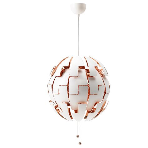 Ikea Ps 2014 Pendant L White Copper Colour 52 Cm Ikea Ikea Pendant Lights