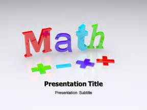 Free Math Powerpoint Templates For Teachers by Animated Maths Powerpoint Ppt Background Templates And