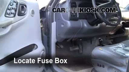 dodge durango interior fuse check  dodge