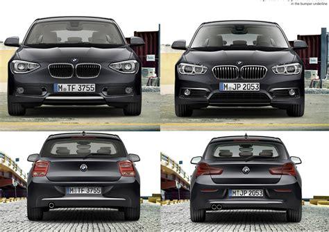 Bmw 1er Facelift Vergleich by Offiziell Bmw 1er F20 F21 Facelift Lci