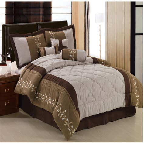 micro suede comforter set port creek micro suede comforter set