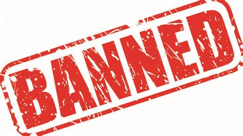 To Ban Or Not To Ban by Mayor Anything Not Permitted Is Now Banned And