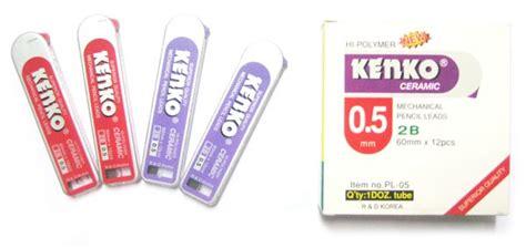 Refill Isi Cutter Besar Kenko L150 Isi Ulang Murah dino karya pradana kenko refill mechanical pencil leads