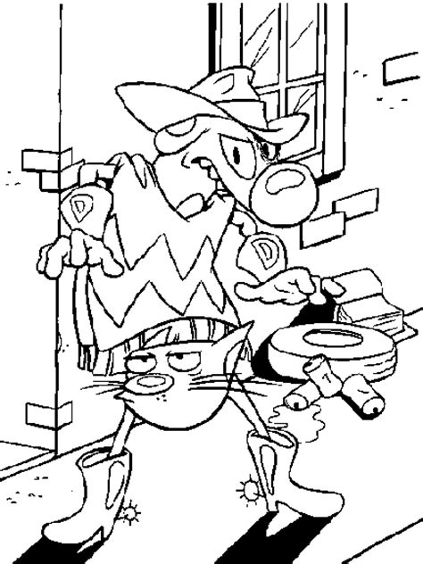 coloring page catdog coloring pages 5