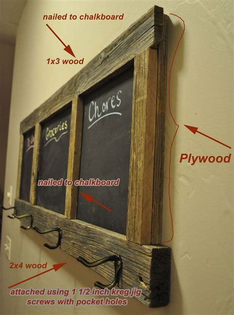 diy chalkboard shelf free diy coat rack chalk board plans building