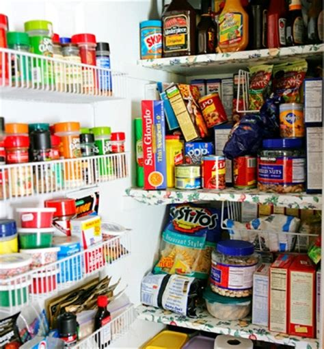 Kitchen Food Pantry by Kitchen Food Storage Ideas