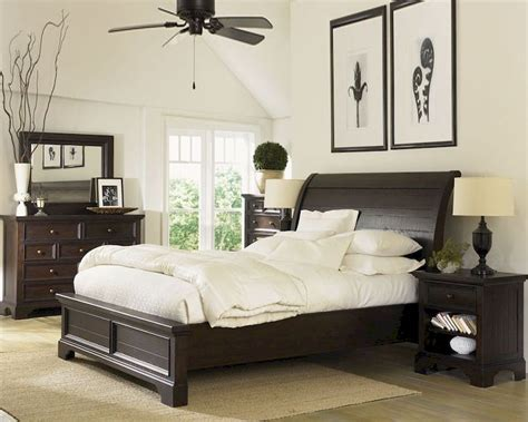 aspen bedroom furniture aspenhome sleigh bedroom bayfield asi70 400set