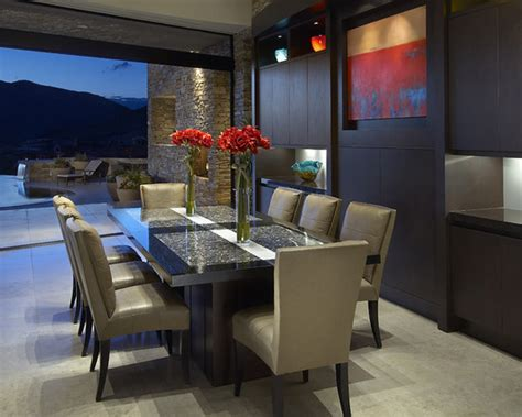 contemporary dining room decosee com