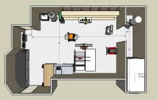 Small Shop Floor Plans by Small Woodworking Shop Floor Plans