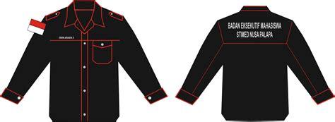 desain kemeja pdh desain baju pdh badan eksekutif mahasiswa stimed np