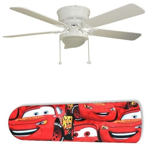 Cars Ceiling Fan by Lightning Mcqueen Cars 52 Quot Ceiling Fan With L