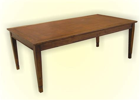 Indoor Teak Dining Table Rafless Dining Table Leg Indoor Teak Furniture