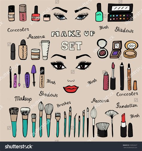 how to use doodle to set up a meeting make up kit doodle makeup set collection of brushes