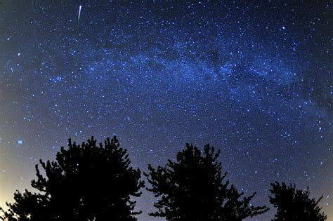 Perseus Meteor Shower by The Perseid Meteor Shower Captured Across The Skies