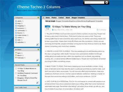 blogger xml to wordpress blogger theme itheme blogger xml templates left side bar