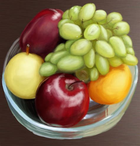 bowl of fruits photoshop michelle sunny