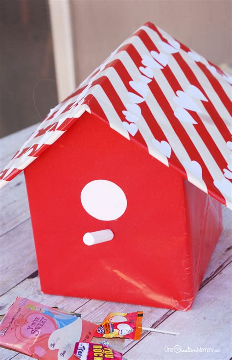 cool valentines day boxes box ideas birdhouse onecreativemommy