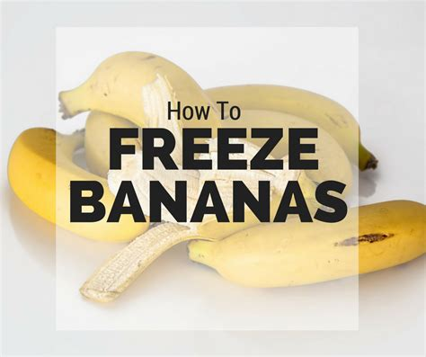 how to freeze bananas fluster buster