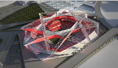 Georgia World Congress Center ideas for the new falcons stadium have been released