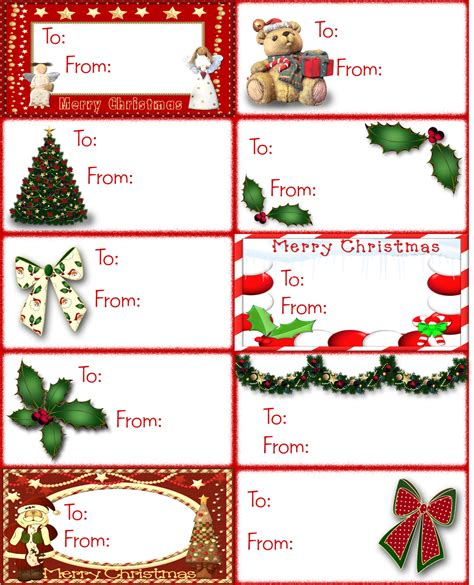 graxas page christmas printable gift tags