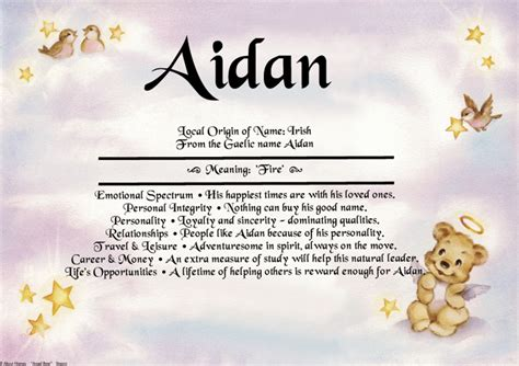 print layout meaning 1st name meaning angel bear design all about names