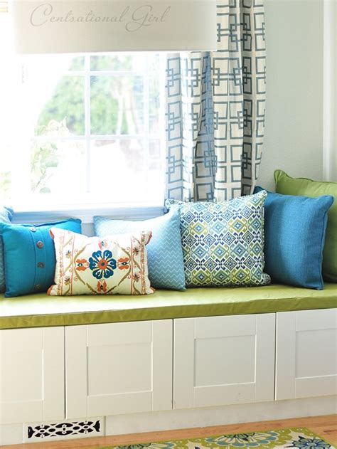 how to sew a bench seat cushion simple sew box cushion cover centsational style
