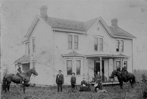 Franklin County Pa Birth Records Dell W Lesnett Farmhouse In Franklin Township Beaver County Pa About 1890