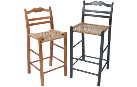 Ladder Back Bar Stool Country Ladderback Barstool Country Ladderback Counter Stool Kate