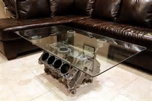 Coffee Table Engine Block Engine Block Coffee Table Other Uses For