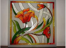 Glass Painting Designs and Patterns - Easyday Easy Flower Designs For Glass Painting