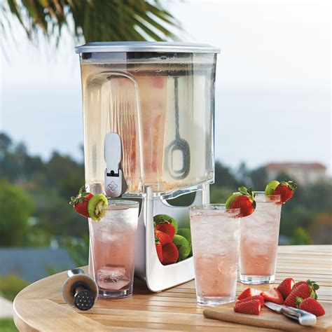 Water Infused Dispenser primula instant infusion beverage dispenser the green