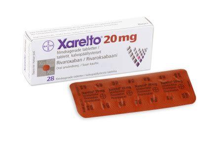 Obat Xarelto 15 Mg xarelto 20 mg f 246 rpackning bayer ab